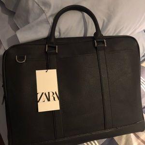 Zara messenger navy fancy bag